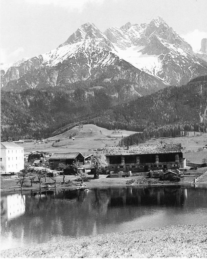 Ritzensee-in-den-50ern-Saalfelden