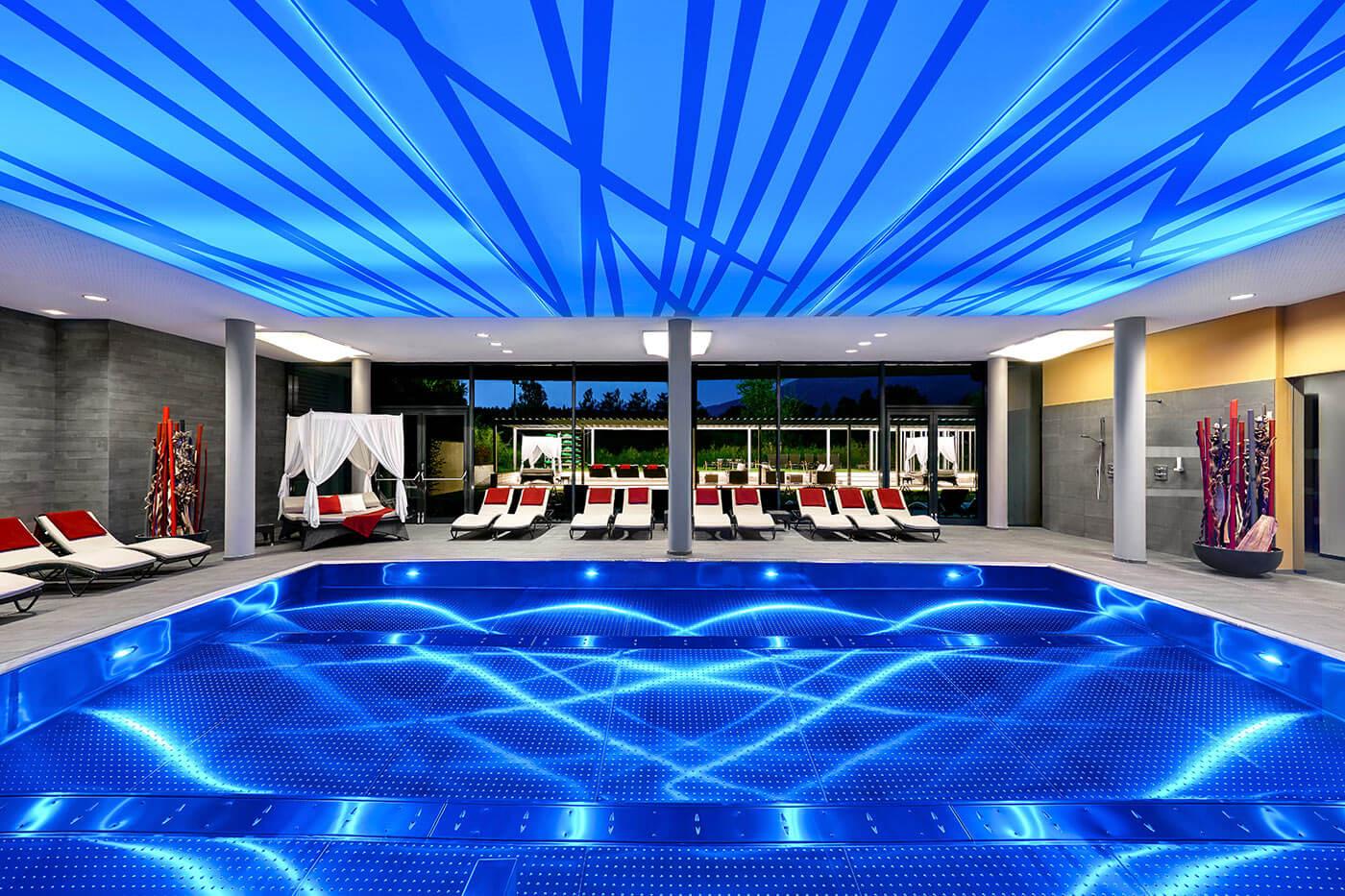 Modernes designhotel in sterreich architektur des for Designhotel salzburg