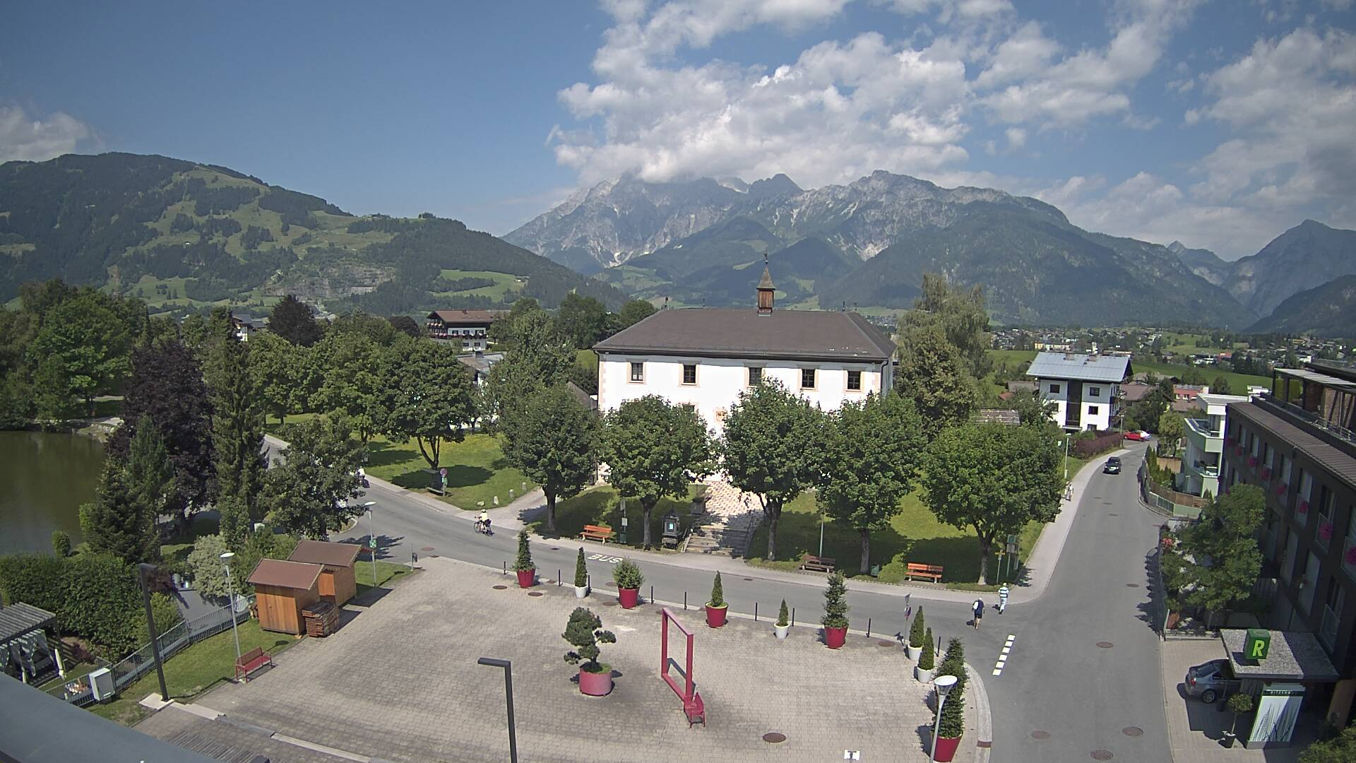 Webcam 1 - Schlossblick